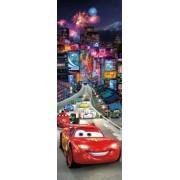 """Fototapet """"masini In Tokyo"""" - Colectia Disney"""