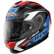 X-Lite X-903 Ultra-Carbon Nobiles N-Com Helmet Red Blue 2XS