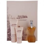 Jean Paul Gaultier Classique lote de regalo V. eau de toilette 50 ml + leche corporal 75 ml + gel de ducha 30 ml