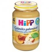 HIPP bébiétel - Őszibarackos alma teljes kiőrlésű rizzsel 190g