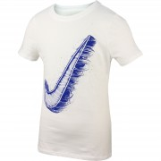 Tricou copii Nike CTN SS CREW ART SWOOSH YTH 822510-100