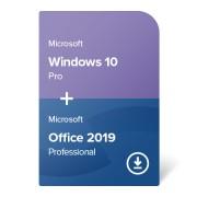 Windows 10 Pro + Office 2019 Professional електронен сертификат