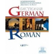 Dictionar German - Roman - Academia Romana