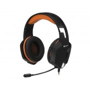TRACER Słuchawki z mikrofonem Tracer BATTLE HEROES Dragon czarno-pomarańczowe