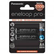 2 x Acumulator R6 Panasonic Eneloop Pro BK-3HCDE/2BE