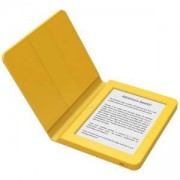 eBook четец BOOKEEN SAGA, 6 инча, Силиконов калъф, Жълт, BOOKEEN-CYBSB2F-YW