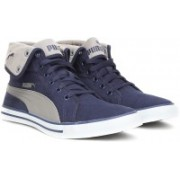 Puma Carme Mid IDP Mid Ankle Sneakers For Men(Blue, Grey)