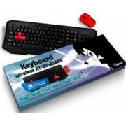 Kit Tastatura cu mouse wireless Akyta AT-RF-21855
