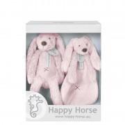 Set cadou Jucarii de plus Iepurasul Richie Pink Happy Horse