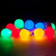 Светодиодная гирлянда Feron CL119 RGB цветные шарики(26957)