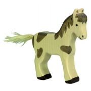 Fa játék állatok - ló, csikó, foltos, álló