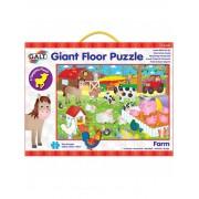 Giant Floor Puzzle: Ferma, 30 piese, 3 ani+