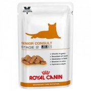 Royal Canin Veterinary Care Royal Canin VCN Senior Consult Stage 2 pour chat - 100 g 4 x 12 sachets