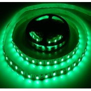 5050 led szalag, 60 led/m zöld, fehér nyák, 2 év garancia, extra fényerő, 16 lumen/chip!