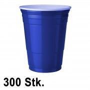 StudyShop 300 Stück Blaue Becher (Blue Cups 16 oz.)