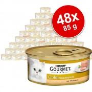 Gourmet Megapakiet Gourmet Gold Mus, 48 x 85 g - Jagnięcina z zieloną fasolą