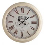 Oak Furnitureland Clocks - Gardera Wall Clock - Oak Furnitureland