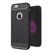 GadgetBay Coque en TPU Black Carbon Armor pour iPhone 6 Plus 6s Plus