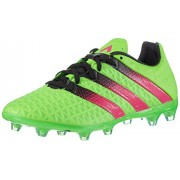 adidas Men's Ace 16.2 FG/AG Green, Pink and Black Football Boots - 7 UK