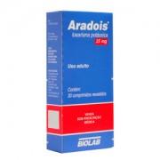 Aradois 25mg Com 30 Comprimidos Revestidos