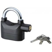 DOERSHAPPY Anti-Theft Padlock Security System Door Motor Bike Bicycle Safety Lock(Black)