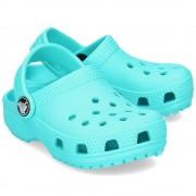 Crocs Classic Clog - Klapki Dziecięce - 204536 POOL