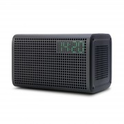 GGMM E3 Wi-Fi Bluetooth Digital Clock Function Smart Speaker - Black