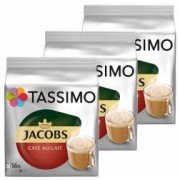 Set 3 X Capsule Jacobs Tassimo Cafe au Lait 16 Capsule 184 g