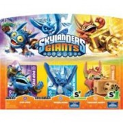 Set 3 Figurine Skylanders Giants Pop Fizz Whirlwind Trigger Happy