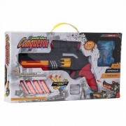 SHRIBOSSJI Conqueror 3 in 1 Powerful Featured Kids (Soft + crystal + Music ) Bullet Toy Gun (Multicolor)