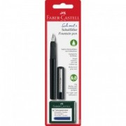 Stilou Faber Castell scolar carbon 149809 cu 6 patroane
