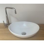 Maxwhite 8002 CORNO Umyvadlo keramické ovál na desku 40,5x33x14,5cm