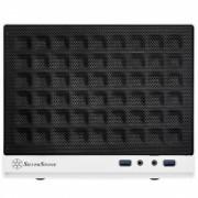 Carcasa Silverstone Compact Computer Cube Case SST-SG13WB Sugo Mini-ITX, black white