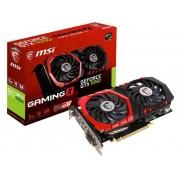 MSI Gaming Grafikkort Nvidia GeForce GTX1050 Gaming X 2 GB GDDR5X PCIe x16 HDMI, DVI, DisplayPort