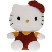 SANA Hello Kitty Soft Toy Character Specially Designed for Kids to Carry Everywhere Stuff | Attractive Designer and Stylish | Perfect for Gifting Purpose | Return Gift | Birthday Gifts (Brown, 40cm)