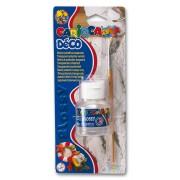 Lac protector 50ml + pensula, CARIOCA Deco Glossy