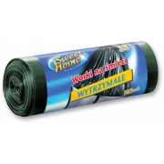 Saci menajeri HDPE 35 L, negru, 50 buc/rola Sweet Home