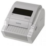 Професионален етикетен принтер Brother TD4000, 2 г.