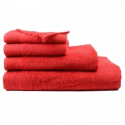 The One Towelling The One Handdoek 450 gram 50x100 cm Rood