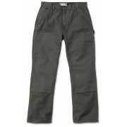 Carhartt Washed Duck Double-Front Work Dungaree Byxor Grön 36