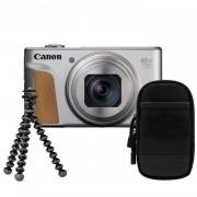 Canon Powershot SX740 HS zilver Travel Kit