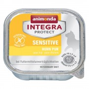 6x100g Adult Sensitive Animonda Integra Protect Hrană umedă pisici - Curcan & Orez