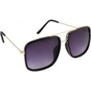 FEMISH Retro Square Sunglasses(Grey)