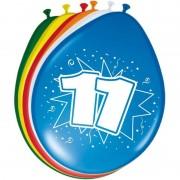 Folat 16x stuks ballonnen 11 jaar