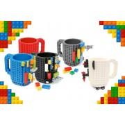 Lego 2 Lego-Compatible Build-On Brick Mugs - 10 Colours!
