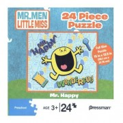 Mr. Happy 24 Piece Puzzle Mr. Men Little Miss Series