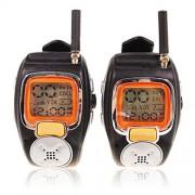 Špionážne hodinky s vysielačkou - Walkie Talkie