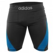 Adidas Training Short Closefit Beluga Zwart - XL