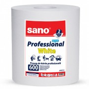Prosop din hartie Sano Professional White 2 straturi 600 foi