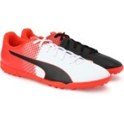 Puma evoSPEED 5.5 TT Football Shoes For Men(Orange)